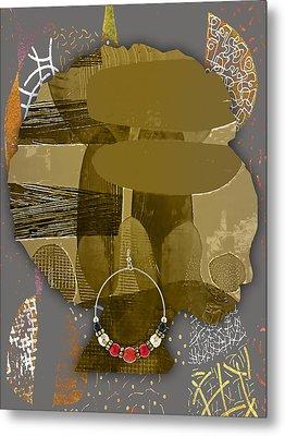 African American  Metal Print