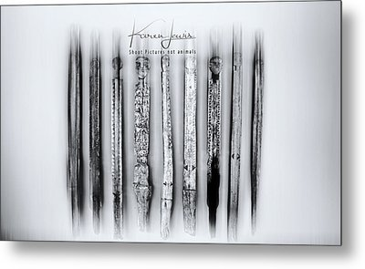 Metal Print featuring the photograph African Artefacts by Karen Lewis