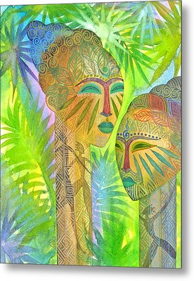 African Forest Queens Metal Print by Jennifer Baird