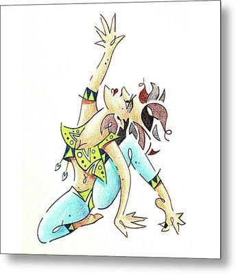 Afro Dance - Danza Africana Contemporanea Metal Print