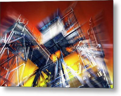 Metal Print featuring the photograph After Effect by Wayne Sherriff