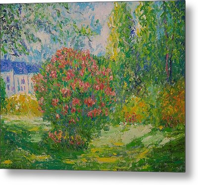After Monet Metal Print by Lore Rossi