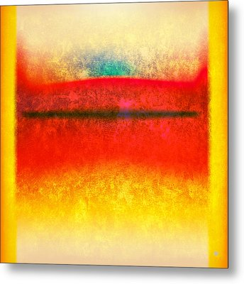 After Rothko 8 Metal Print by Gary Grayson