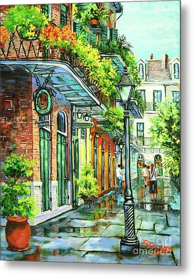 After The Rain Metal Print by Dianne Parks