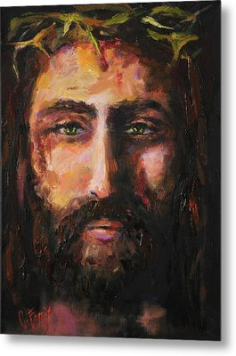 After The Scourging Metal Print by Carole Foret