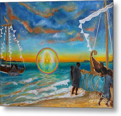 After The Storm Metal Print by Anne Cameron Cutri