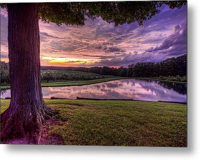 After The Storm At Mapleside Farms Metal Print
