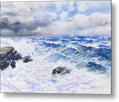 After The Storm Metal Print by Jack Tzekov