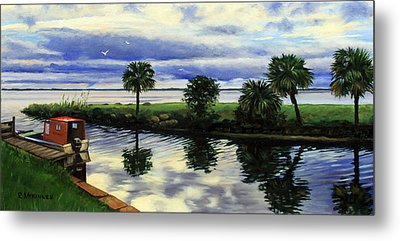 After The Storm Metal Print by Rick McKinney