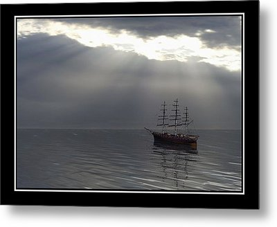 After The Storm Metal Print by William  Ballester