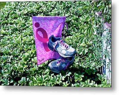 After The Three Day Walk Metal Print