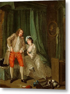 After Metal Print by William Hogarth