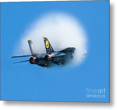 Afterburners Ablaze Metal Print