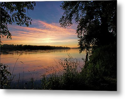 Metal Print featuring the photograph Afterglow by Cricket Hackmann