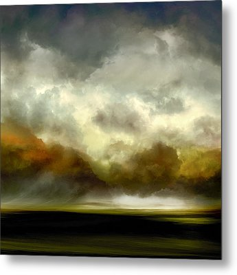 Afterglow Metal Print by Lonnie Christopher