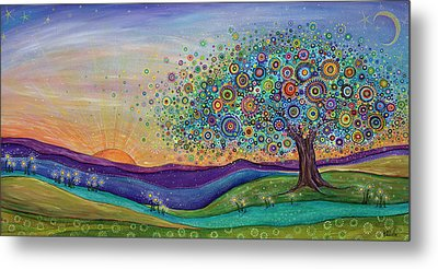 Afterglow - This Beautiful Life Metal Print by Tanielle Childers