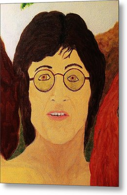Afterlife Concerto John Lennon Metal Print by Rand Swift
