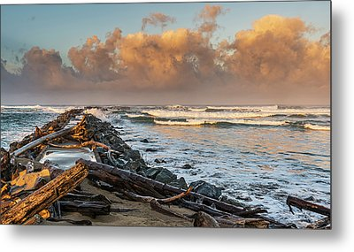 Aftermath And Prelude Metal Print by Loree Johnson