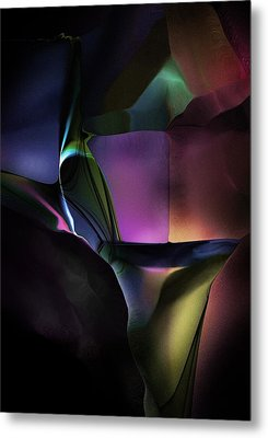 Afternoon Abstract Metal Print