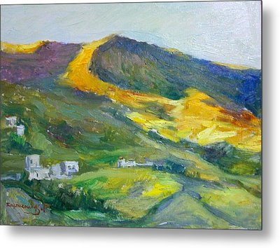 Afternoon Amorgos Metal Print