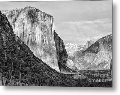 Metal Print featuring the photograph Afternoon At El Capitan by Sandra Bronstein