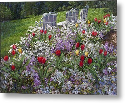 Afternoon Delight Metal Print by L Diane Johnson