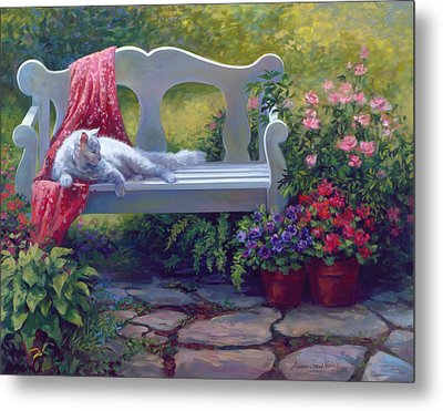 Afternoon Delight Metal Print by Laurie Hein