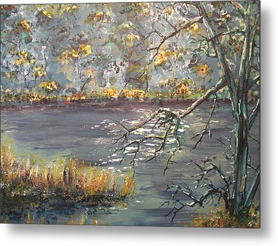 Metal Print featuring the painting Afternoon Getaway by Dan Whittemore