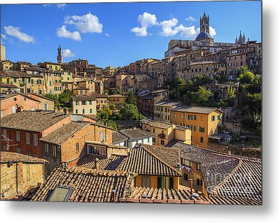 Metal Print featuring the photograph Afternoon In Siena by Spencer Baugh