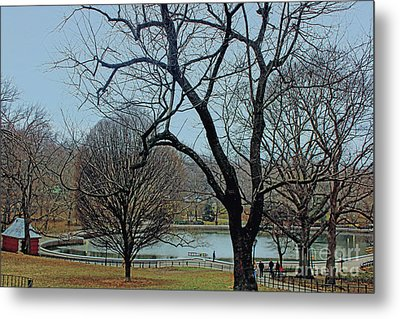 Afternoon In The Park Metal Print