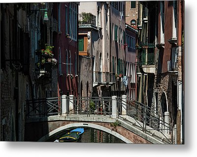 Metal Print featuring the photograph Afternoon In Venice by Alex Lapidus