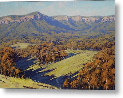 Afternoon Light Megalong Valley Metal Print by Graham Gercken