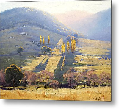 Afternoon Light Tarana  Metal Print by Graham Gercken