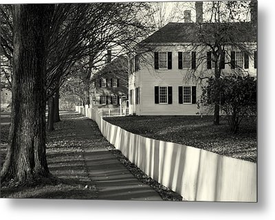 Afternoon Shadows Metal Print