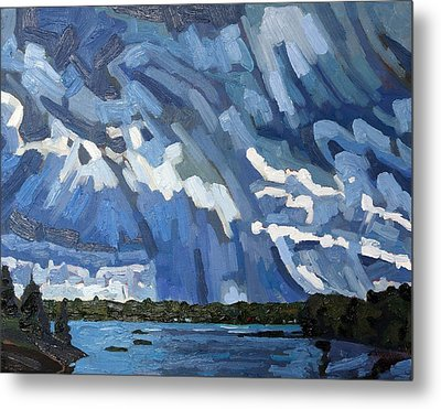 Afternoon Showers Singleton Metal Print by Phil Chadwick
