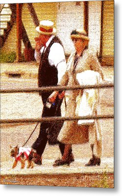 Afternoon Stroll Metal Print by Cristophers Dream Artistry