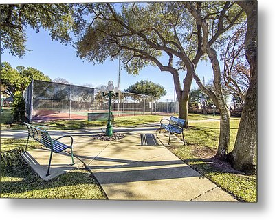 Afternoon Tennis Metal Print
