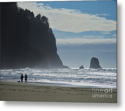 Cape Meares Metal Print by Michele Penner
