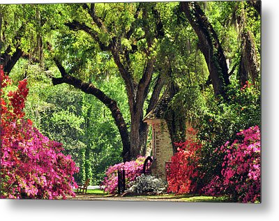 Metal Print featuring the photograph Afton Villa Gatehouse by Helen Haw