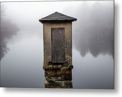 Metal Print featuring the photograph Against The Fog by Karol Livote