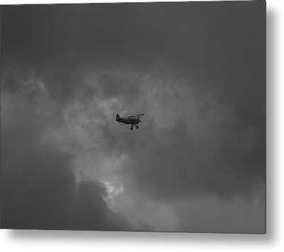 Metal Print featuring the photograph Against The Sky by Joshua House