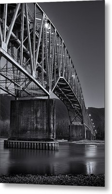 Agassiz-rosedale Bridge Metal Print
