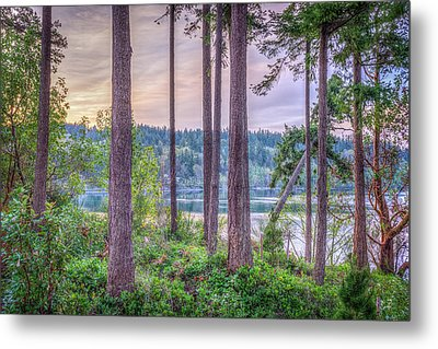 Agate Passage View Metal Print by Spencer McDonald