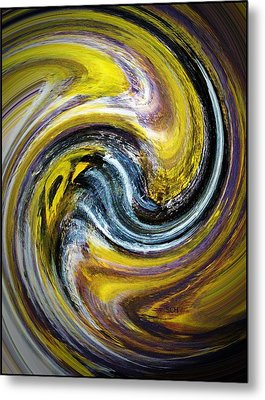 Agate The Mineral Metal Print by Scott Haley
