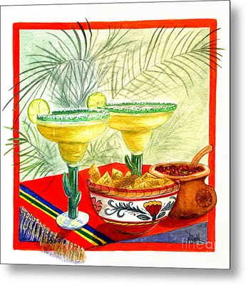 Agave Amigos Metal Print by Marilyn Smith
