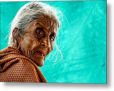 Age Is Just A Number Metal Print by Ram Prasad