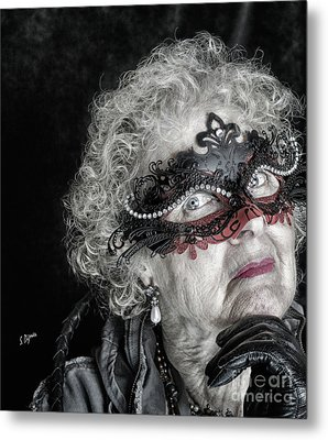 Age Is Not A Victim  Metal Print by Steven Digman
