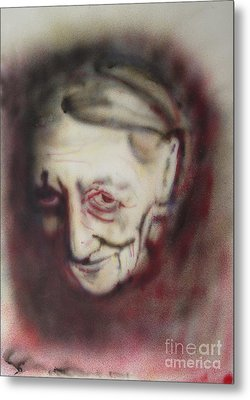 Aged Smile Metal Print by Ron Bissett