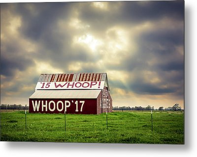 Metal Print featuring the photograph Aggie Barn by David Morefield
