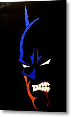 Aggression Metal Print
